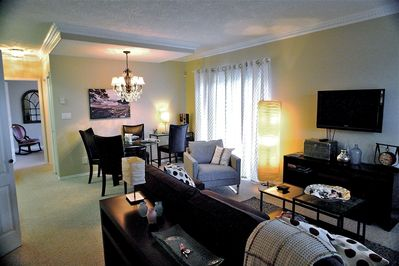 The Suite is beautiful and first-class with all new furniture and appointments