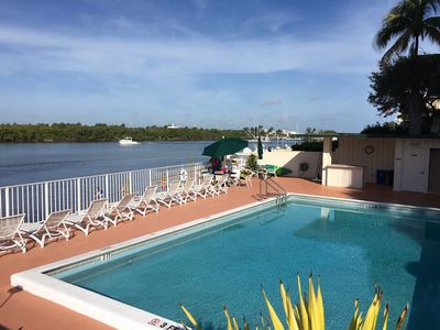 Photo for Fabulous Villa on Intracoastal. Ocean views from all rooms!