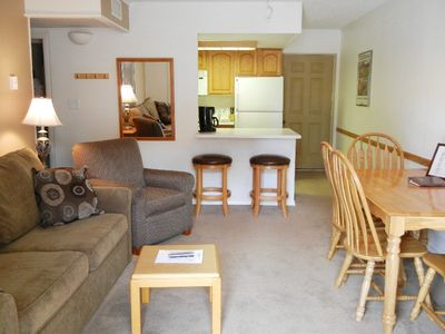 Photo for Best location and value in downtown Breck on bus route ! Alpenrose 1bed/1bath