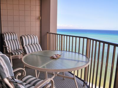 Photo for Enjoy Our Maui Home - 8th Floor Valley Isle w/Direct Ocean Front Views, NO A/C