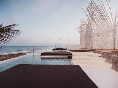 Photo for Tulum New  Oceanfront Villa I'ik by Casa Xuul/ Cook & daily clean service inc.