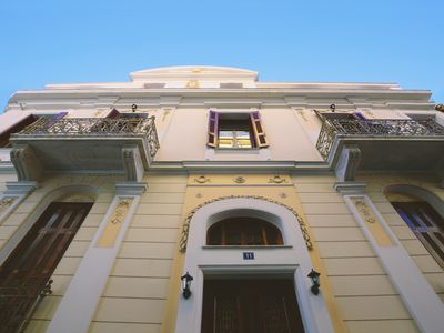 Photo for (1A) One Bedroom Central Neoclassical Apartment In Psiri-Historic Center!