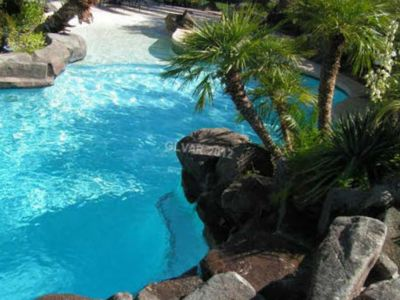 Photo for LV 7+ bedroom, Sleeps 20 Vacation House w/ Private Pool, Water Slide & Jacuzzi