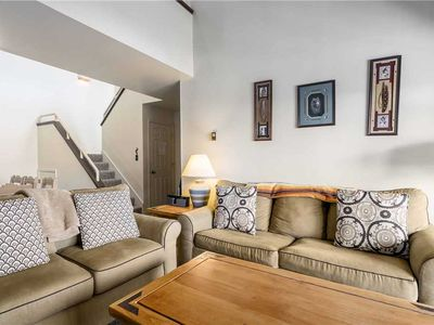 Photo for Great summer condo with vaulted ceilings, outdoor pool, hot tubs and more...