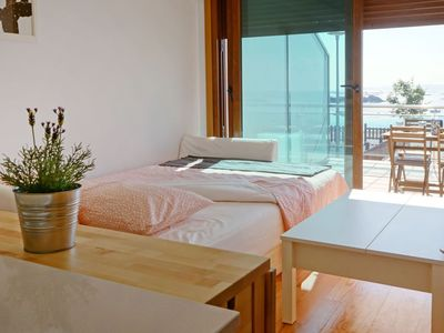 Photo for Apartment in Ribeira with Internet, Parking, Terrace, Washing machine (970734)