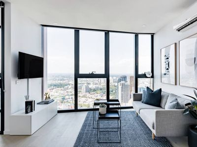 Photo for Avant · Sleek CBD Apartment with Skyline Views