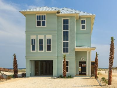 Photo for 7 BR/6.5 Bath Directly-on-the-Gulf Beachouse Built 2014; Pool/Kayaks/Paddleboard