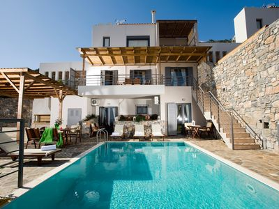Photo for House in Agios Nikolaos with Internet, Pool, Air conditioning, Parking (724748)