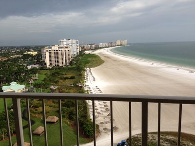 Photo for 19th floor, South side beach front corner Condo with GREAT VIEW