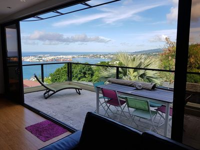 Photo for Luxury apartment with magnificent view + car