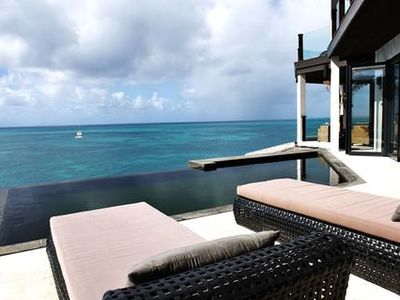 Photo for Ocean front modern three bedroom apartment