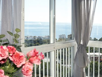 Photo for COSTA DEL SOL VIEWS, POOL & RELAX - Apartment for 4 people in Benalmadena