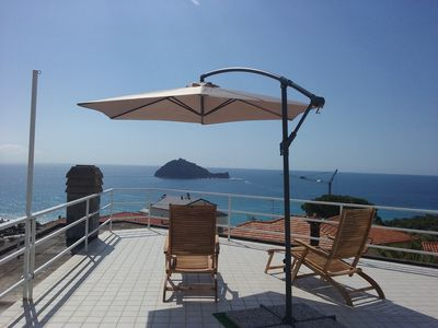 Photo for House surrounded by quiet Albenga with a 360 degree sea