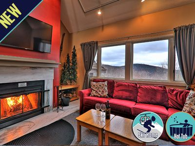 Photo for Cozy, one bedroom/loft condo! Ski back trails/shuttle & Sports center access