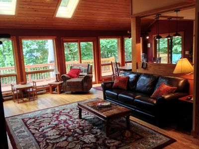 Photo for Newly Renovated, Cozy Mountain Home- Ideal Romantic Getaway or Family Fun!