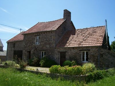 Photo for 16th century Normandy stone house with a fireplace