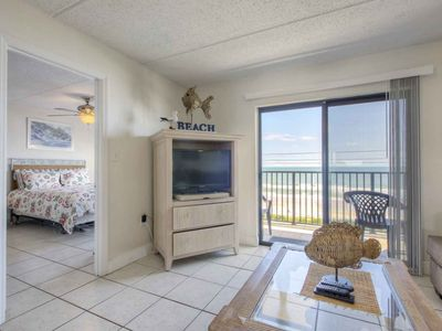 Photo for DISCOUNTED Ormond By the Sea Beach Condo-4th Floor, Direct Oceanfront View, Swimming Pool, FREE WIFI