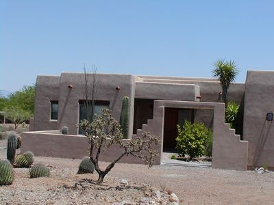 Photo for COMFORT, PRIVACY,  ON 1 ACRE WITH UNLIMITED CITY AND MOUNTAIN VIEWS!