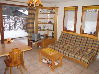 Photo for South-facing ground floor apartment in Samoëns of 43 m2