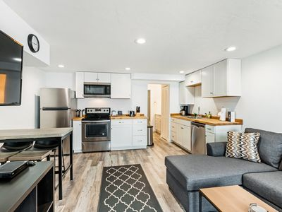 Photo for Newly-renovated, lakefront condo on ground level steps away from Lake Dillon
