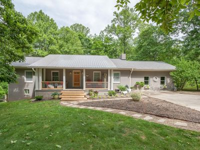 Photo for Private Pet-Friendly (3/3) Home on 2 acres in Weaverville