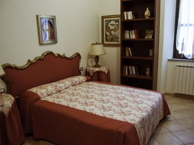 Photo for Stately, elegant and comfortable apartment in Villa Pinelli, Pitigliano