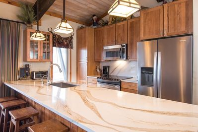 New Kitchen counter tops Winter 2019.