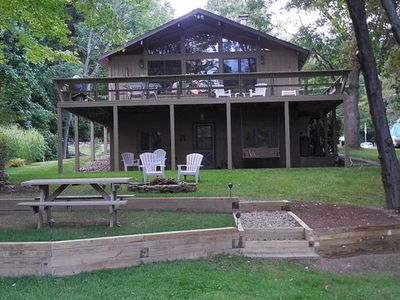 Photo for WATERFRONT 3 BR Chalet in Treasure Lake