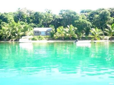Photo for Beautifully located Pacific holiday home water right at the front door