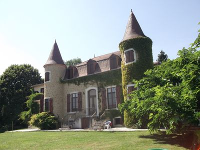 Photo for Chateau -- Quiet Secluded Holiday Home with Glorious Views to the Pyrenees