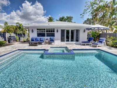 """Photo for Luxurious Boutique Villa a with """"Private"""" Saltwater Pool in the Heart of Delray Beach"""