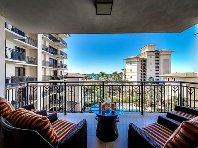 Photo for 3 Bed, 2 1/2 Bath Luxury Oceanview Fifth Floor Condo, by Ola Properties