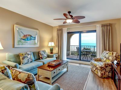 Photo for Updated & Beautiful Oceanfront Condo on Amelia Island Plantation! Great Views