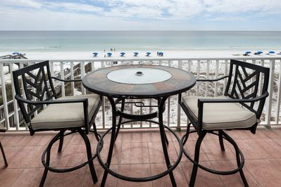 Amazing view from The 3rd floor - Enjoy the beauty of the Gulf while having your favorite dessert!
