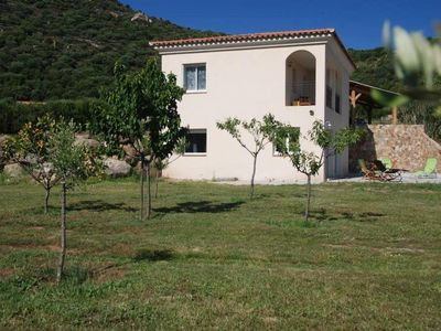 Photo for Apartment in idyllic setting between the sea/countryside Corsica