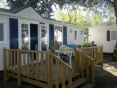 Photo for 2BR Mobile Home Vacation Rental in Vias-Plage