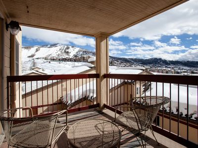 Photo for APRIL DISCOUNTS- 3 BED/2 BATH- SKI IN/SKI OUT- LOTS OF SNOW STILL COMING