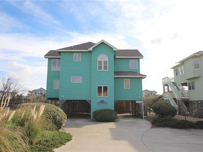 Photo for #CP2: Partial OCEANVIEW Home in Corolla w/Hot Tub & Outdoor Com.Pool