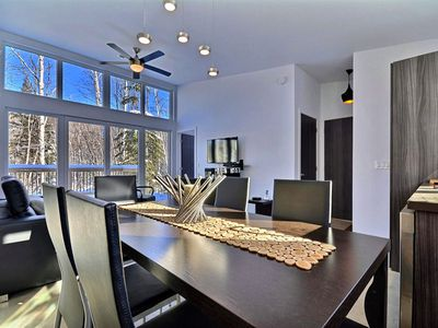 Photo for Miniloft Bel Air Tremblant, heart of nature, spa, pool, gym, Jacuzzi, 5 mins to Village