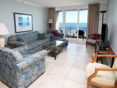 Photo for Carolina Winds 402, Lovely 3 BR Ocean Front condo with Indoor Outdoor Pools, Hot Tubs and Lazy River