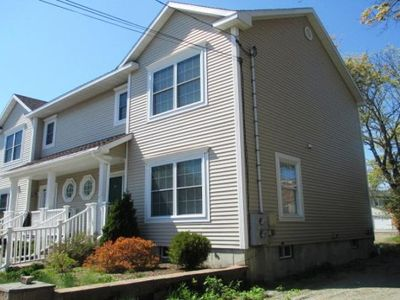 Photo for Spacious two bedroom, quiet side street near the Shore Path. Pets are welcome.