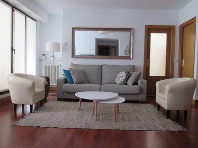 Photo for A 150 mts. beach-with-terrace-quiet location-good parking option