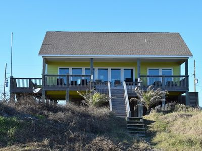 Photo for 57 Steps-Coastal Living Beachfront Home. Sleeps 16. Great for events!