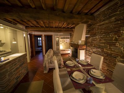 Photo for Charming stone apartment in the center of Lucca.