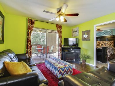 Photo for Tastefully Decorated Condo, only Steps away from Outdoor Pool, Playground