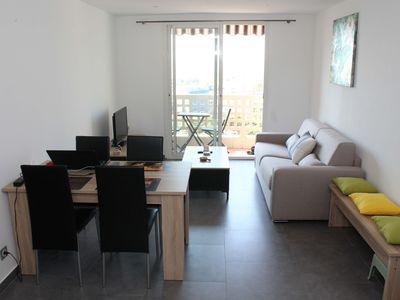 Photo for Beautiful apartment with open sea view not overlooked