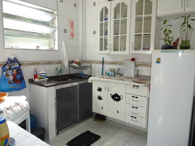 Photo for APT REFORMED SANTOS / SÃO VICENTE - 3 MINUTES FROM THE BEACH - WHATS 13 99168-4575