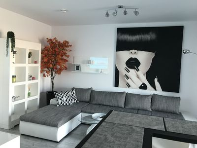 Photo for Luxury 2-Room Penthouse Plaza Residence, central in town, close to Plaza Mall