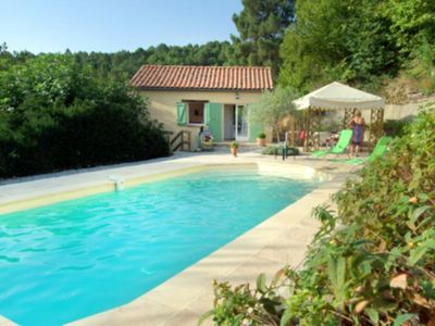 Photo for Holiday rental villa private pool in the heart of the Cévennes - Gard - South of France