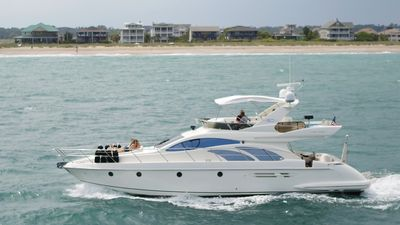 Photo for 50 Foot Azimut Italian Luxury Motor Yacht Sleeps 6 Port City Marina WilmingtonNC
